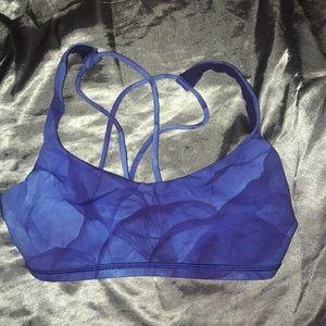 Authentic Lululemon blue women's sport bra